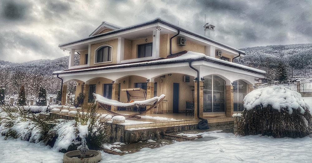 Къща Дайора - Зима